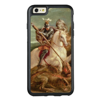 St. George slaying the dragon, (oil on panel) OtterBox iPhone 6/6s Plus Case