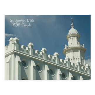St. George, Utah LDS Temple Postcard
