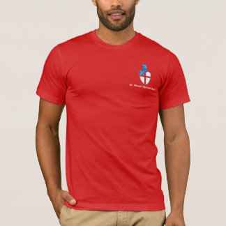 St. George's Basic Red T T-Shirt
