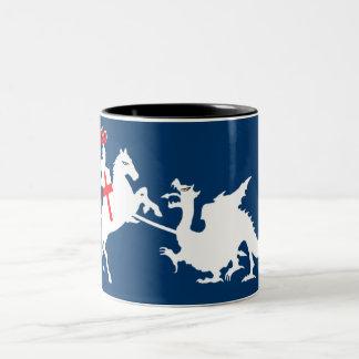 St George's Day Two-Tone Coffee Mug
