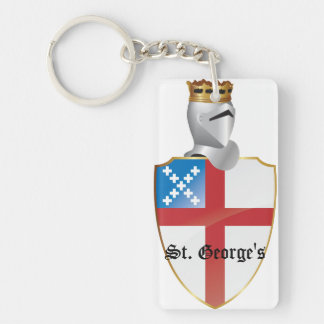 St. George's Key Chain