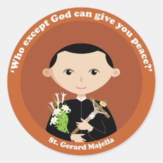 St. Gerard Majella Round Sticker