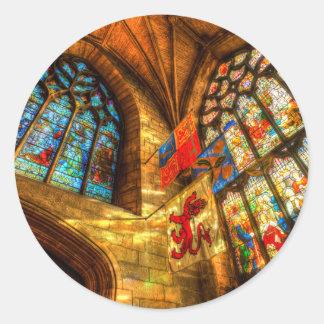 St Giles Cathedral Edinburgh Classic Round Sticker