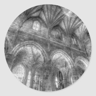St Giles Cathedral Edinburgh Classic Round Sticker