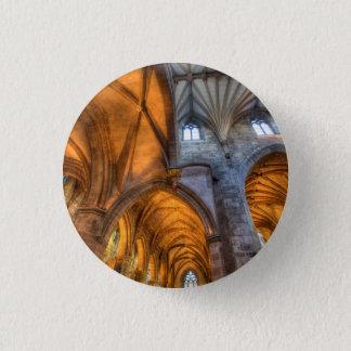 St Giles Cathedral Edinburgh Scotland 1 Inch Round Button