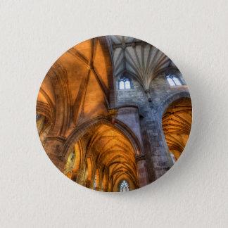 St Giles Cathedral Edinburgh Scotland 2 Inch Round Button
