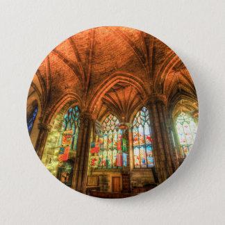 St Giles Cathedral Edinburgh Scotland 3 Inch Round Button