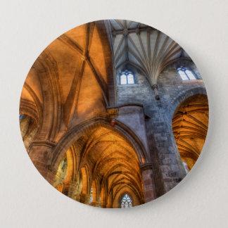 St Giles Cathedral Edinburgh Scotland 4 Inch Round Button