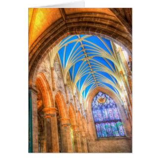 St Giles Cathedral Edinburgh Scotland Card