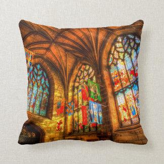 St Giles Cathedral Edinburgh Scotland Throw Pillow