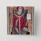 St. Gregory 2 Inch Square Button