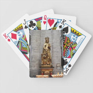 St. Gudula Bicycle Playing Cards