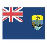 St. Helena Flag Post Card