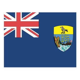 St. Helena Flag Postcard