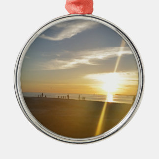 St. Helena Serenity. Silver-Colored Round Ornament