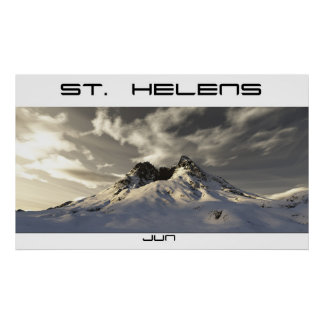 St. Helens Poster