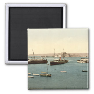 St Heliers Harbour, Jersey, England Magnet