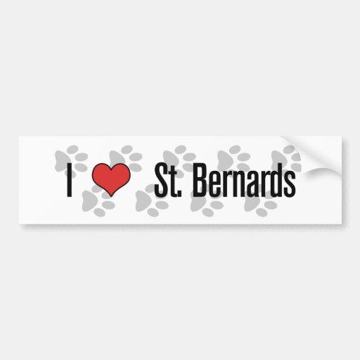 St I (coeur) Bernards Adhésifs Pour Voiture