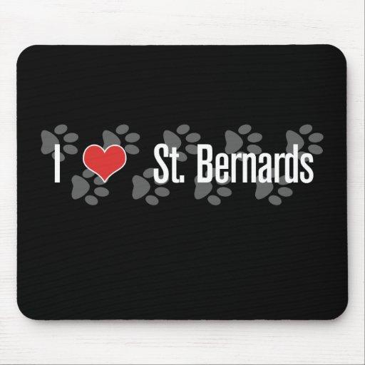 St I (coeur) Bernards Tapis De Souris