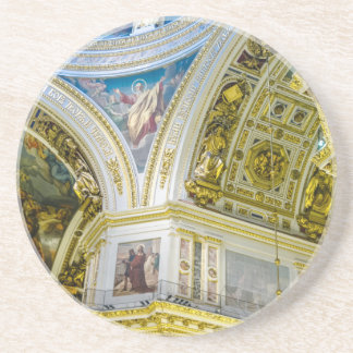 St. Isaac's Cathedral St. Petersburg, Russia Drink Coasters