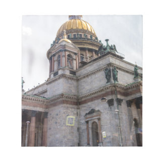St. Isaac's Cathedral St. Petersburg, Russia Notepad