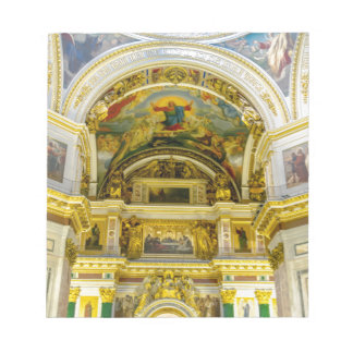 St. Isaac's Cathedral St. Petersburg, Russia Notepads