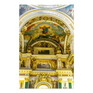 St. Isaac's Cathedral St. Petersburg, Russia Personalized Stationery