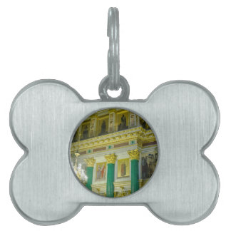 St. Isaac's Cathedral St. Petersburg, Russia Pet ID Tags