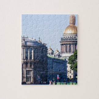 St Isaac's Cathedral St Petersburg Russia Jigsaw Puzzle