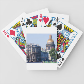 St Isaac's Cathedral St Petersburg Russia Poker Deck