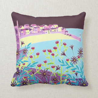 St Ives, Cornwall, cushion by Joanne Short