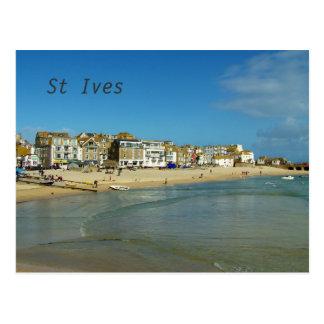 St Ives Cornwall England Photo Postcard