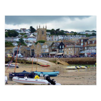 St Ives Cornwall England Postcard