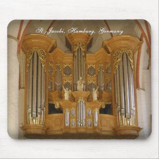 St Jacobi organ mousepad