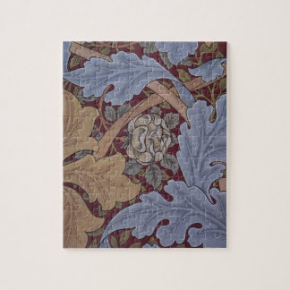 St. James Acanthus Pattern by William Morris Jigsaw Puzzle