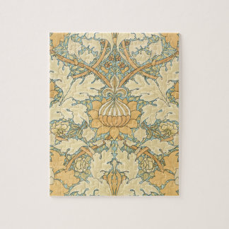 St. James by William Morris, Textile Pattern Jigsaw Puzzle
