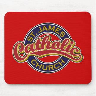 St James Catholic Church Mouse Pad