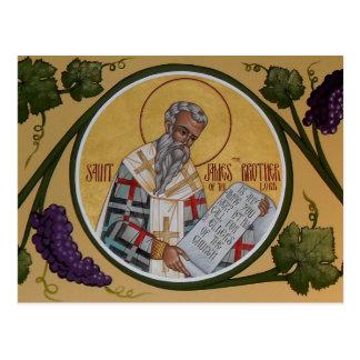 St James le frère de notre seigneur Prayer Card Cartes Postales