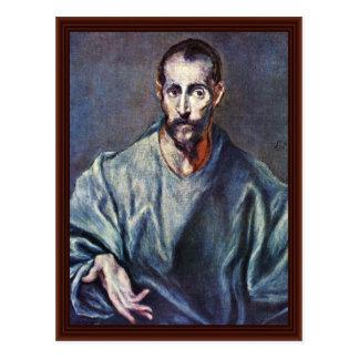 St. James Major By Greco El Postcard