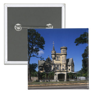 St James, Port of Spain, Trinidad, Caribbean 2 Inch Square Button