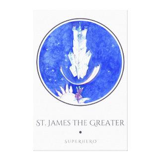 St. James the Greater-Legend about Saint Jacob Canvas Print