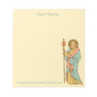 "St. James the Greater (RLS 05) 5.5""x6"" Notepad"