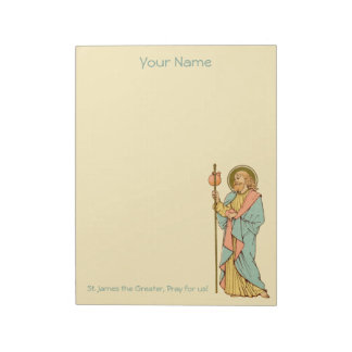 "St. James the Greater (RLS 05) 8.5""x11"" Notepad"