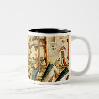 St. Jerome and Lion in the Monastery, 1501-09 Two-Tone Coffee Mug