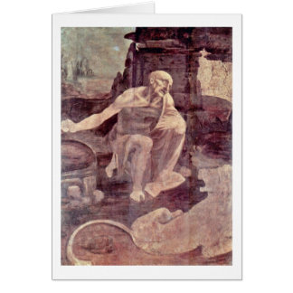 St. Jerome By Card