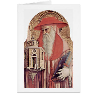 St. Jerome By Carlo Crivelli Card