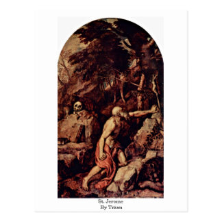 St. Jerome By Titian Postcard
