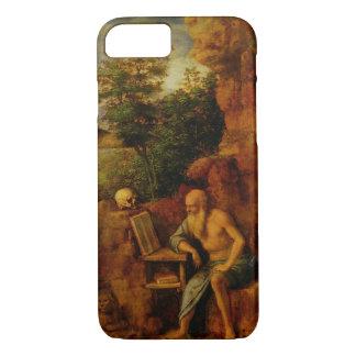 St. Jerome, c.1500 (oil on panel) iPhone 7 Case