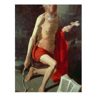 St. Jerome, c.1620 Postcard