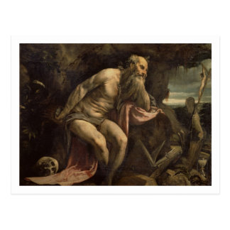 St. Jerome, early 1560s (oil on canvas) Postcard